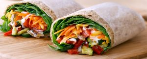 veggie wrap recipes